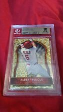 2011 TOPPS FINEST SUPERFRACTOR 1/1 BGS 10 ALBERT PUJOLS RARE ONLY 1 EXISTENCE