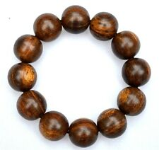 Indonesia Kalimantan Agarwood Aloeswood Gaharu buaya beads 20 mm