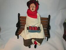 Byers Choice 1991 Apple Lady with Red Stockings Retired