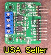 Dual MAX31856 thermocouple breakout board for 3.3V systems (MAX31855 upgrade)