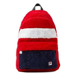 Fila Hexan Backpack - Chinese Red / Peacoat / White NEW
