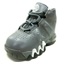 Nike Air Max Barkley TD 488247 002 Toddler Shoes Sneakers Dark Grey Leather Baby