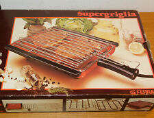 vintage GRILL FERRARI barbecue electrique à VIANDE steak SUPERGRIGLIA meat STOVE