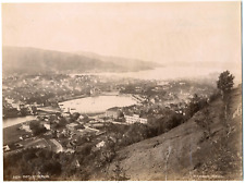 Knudsen knud, Norvège, Norway, Bergen, vue panoramique  Vintage albumen printK