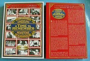 A TIME TO REMEMBER BRITISH EMPIRE DVD Cinesound Movietone Region 4 *see below
