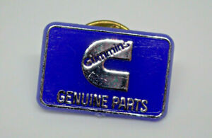 Cummins Genuine Parts logo Vintage Lapel Pin