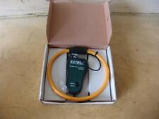 Extech 382098 red 3000a flexible current clamp probe for 382095 382096 analyzer