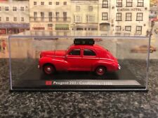 Leo Models Peugeot 203 - Casablanca 1960 1:43 scale die cast model