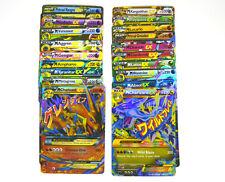 Pokemon TCG:10 CARD LOT RARE, COM/UNC, HOLO & GUARANTEED EX, MEGA OR FULL ART.