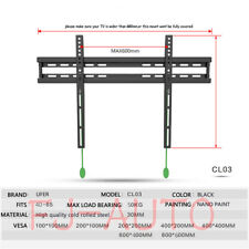 Hot Sale FOR 40-65 Inch Fixed TV Wall Mount LCD LED PLASMA FLAT SCREEN