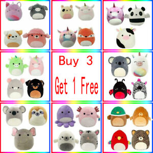 Squishmallows 7-Inch Plush Doll Plushie Toys Kids Gift * Buy 3 Get 1 Free *