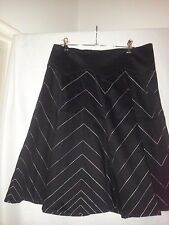 Miss Shop ladies career skirt black size 10