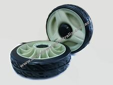 2 x 200mm REAR DRIVE WHEEL for HONDA SELF PROPELLED MOWER - NEW STYLE HRU216M2