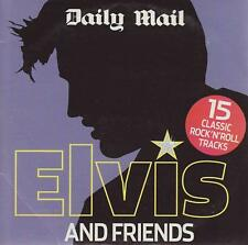 ELVIS AND FRIENDS  = PROMO CD = CLASSIC ROCK 'N' ROLL TRACKS LISTED BELOW