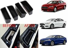 (4) Armrest Storage Box Door Handles For 2013-2016 Ford Fusion New Free Shipping