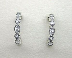 Authentic Pandora ALLURING BRILLIANT MARQUISE EARRINGS #290724CZ W/ BOX & TAG