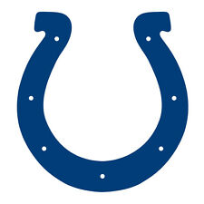"""Indianapolis Colts Decal Indoor - Outdoor - Car-  Truck - Window 4"""" x 4"""""""