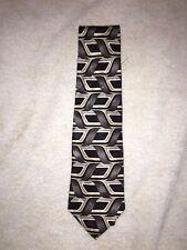 Halston Men's Neck Tie 100% Silk Made In Italy