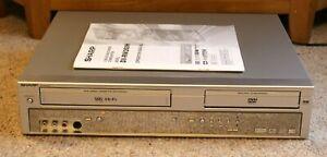 Sharp DV-RW260H VCR/DVD Recorder... Copy from VHS to DVD!