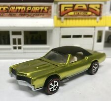 VINTAGE REDLINE HOT WHEELS CUSTOM ELDORADO RESTORED SPECTRAFLAME YELLOW