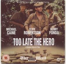 TOO LATE THE HERO (1969) PROMO DVD: MICHAEL CAINE, HENRY FONDA, CLIFF ROBERTSON