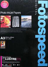 Fotospeed PF Lustre 275 A3 Inkjet Paper - 100 sheets