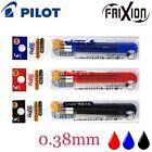 3x FRIXION Slim Pen REFILLS 0.38mm Pilot Erasable Ink Clicker Red Blue Black New