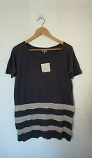 GREAT PLAINS NAVY AND SALT COMBO OVERSIZED RELAXED FIT T-SHIRT SIZE XS BNWT
