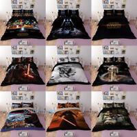 STAR WARS Single/Double/Queen/King Bed Quilt/Doona/Duvet Cover Set Pillowcase