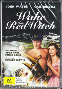 Wake Of The Red Witch DVD John Wayne New and Sealed Australia All Regions
