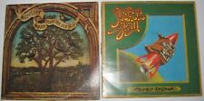 LOT 2 VINTAGE VINYL RECORDS STEELEYE SPAN NOW WE ARE SIX ROCKET COTTAGE LPS EUC