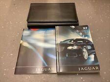 DRIVERS HANDBOOK SET / OWNERS MANUAL PACK - Jaguar XF XFR 2009-2011