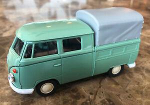 NEW Volkswagen VW T1 Double Cabin Pickup Van - Welly NEX 1:36 scale Diecast