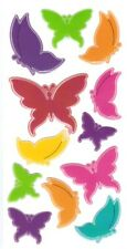 3D Epoxy Gel Stickers Cute Butterfly for Scrapbooking sticker Album school