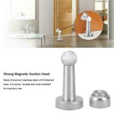 Fermaporta Ferma Porta Magnetico in Acciaio Inox Per Casa Ufficio Hotel