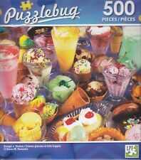 NEW Puzzlebug 500 Piece Jigsaw Puzzle ~ Scoops n' Shakes