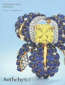 Sotheby's Catalogue Magnificent Jewels 10 December 2019  HB