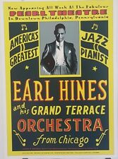 Earl Hines & His Grand Terrace Orchestra | 1929 - 2001 Reprinted Poster