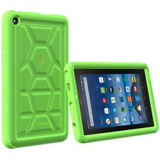 Poetic Turtle Skin Rugged Silicone Gel Case For Amazon Kindle Fire 7 5th (2015)