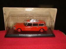 Atlas Citroen Id 20 Estate Ambulance De Pompiers 1972 Mint In Sealed Vac Pack