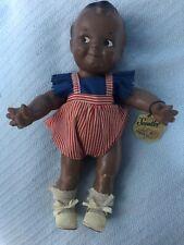 Scootles Rare Black 13� All Original Doll by Cameo Doll Co. w/ wrist tag