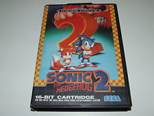 SONIC THE HEDGEHOG 2 for  Mega drive VERY GOOD CONDITION (PAL) (NO MANUAL)