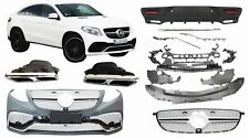 Mercedes C292 GLE Coupe 63 AMG body kit bumper conversion Front Rear+EXHAUST