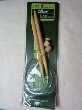 CLOVER 20  INCH NUMBER 13 FLEX BAMBOO KNITTING NEEDLES