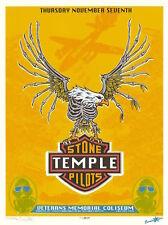 MINT/SIGNED/DOODLED Stone Temple Pilots 1996 EMEK Phoenix Silkscreen Poster