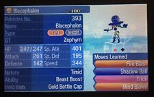 Pokemon ULTRA Sun Moon Shiny Blacephalon 6IV Guide with Gold Bottle Cap