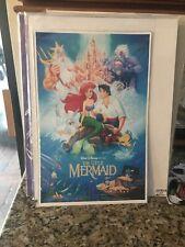 Disney The Little Mermaid Movie Poster 1989