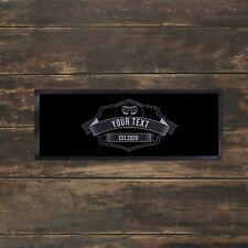 Personalised Chalk Board Beer Glasses Bar Towel Runner Pub Mat Beer Cocktail