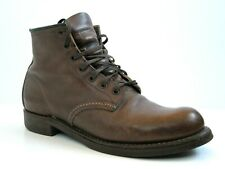 Red Wing Heritage 9161 Amber Harness Brown Beckman Mens Leather Boots 7.5D 7.5