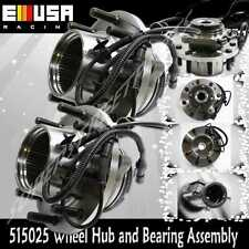 2 PCS FRONT  WHEEL HUB ASSEMBLY for 00-02 Ford F-550 Super Duty 4WD Dually w/ABS